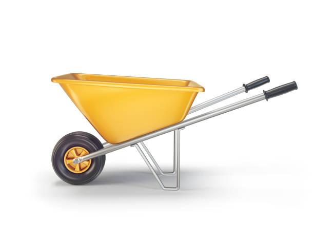 kruiwagen - kruiwagen met gereedschap stockfoto's en -beelden