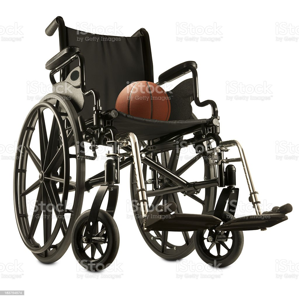 Básquetbol para silla de ruedas - foto de stock