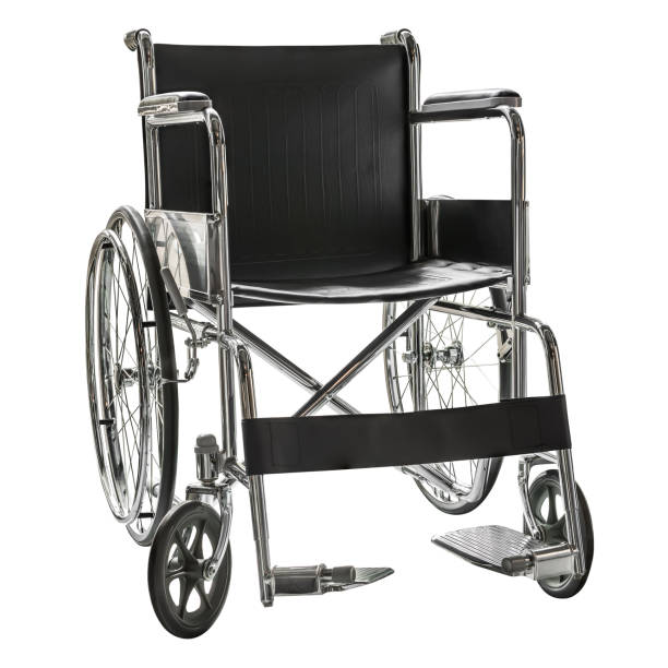 wheelchair isolated - wheelchair stock photos and pictures
