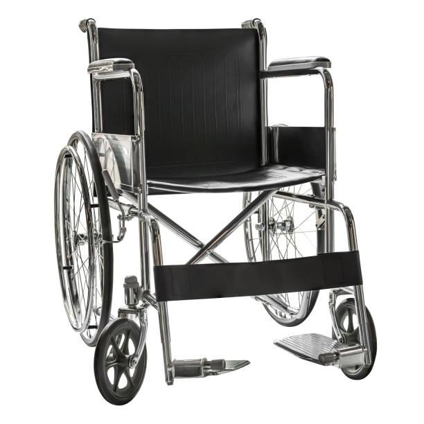 wheelchair isolated - sedia a rotelle foto e immagini stock