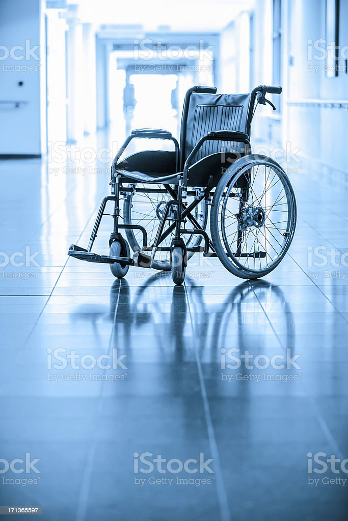 Rollstuhl Lizenzfreies stock-foto