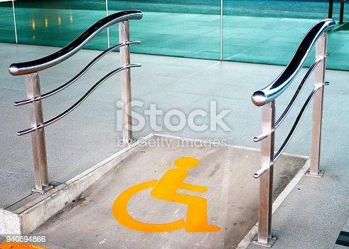 666724598istockphoto Wheelchair ramp way 940594866