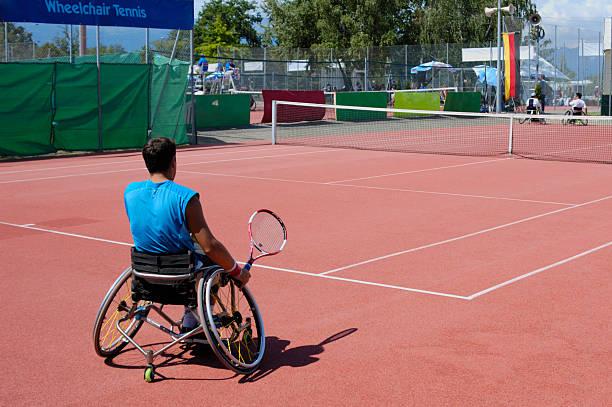 Rollstuhl tennis – Foto