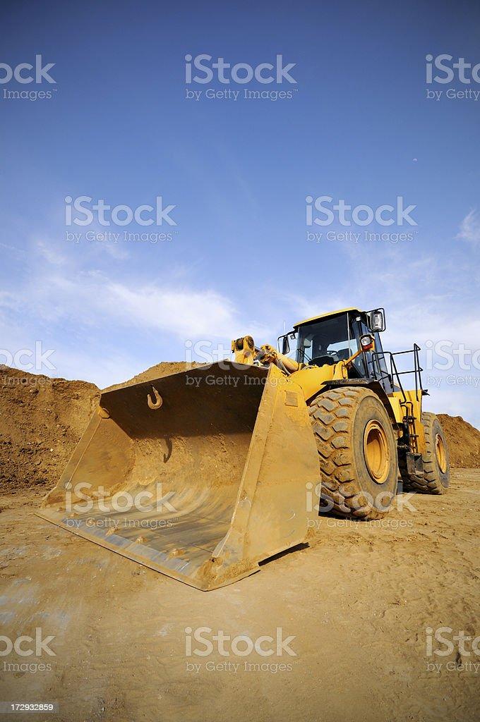Wheeldozer stock photo
