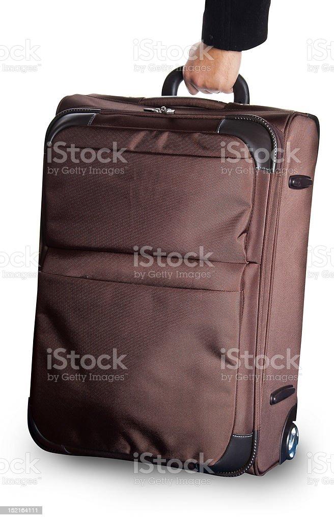 wheeled luggage royalty-free stock photo
