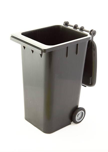Wheelie Bin stock photo