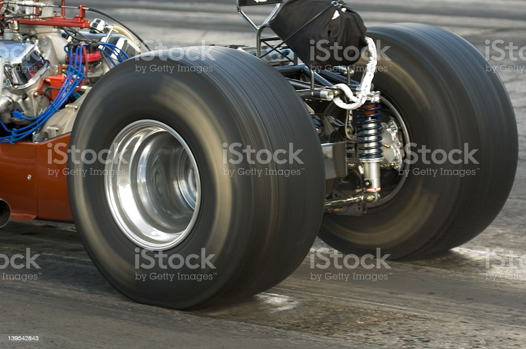 Wheels in Motion stock photo
