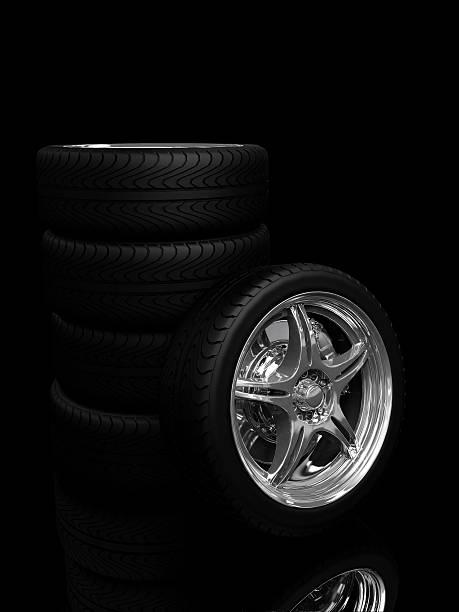 wheels - wheel black background bildbanksfoton och bilder