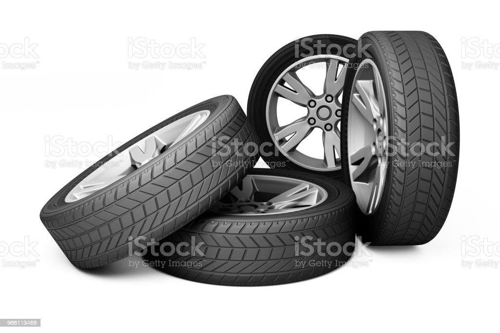 Wheels - Royalty-free Black Background Stock Photo