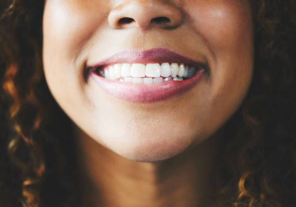 When all else fails, smile! stock photo