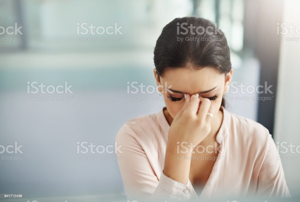 When business becomes unbearable stock photo