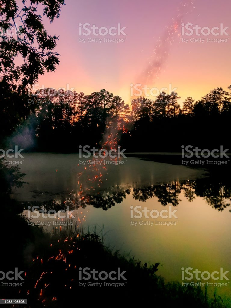 When Colours Fly stock photo
