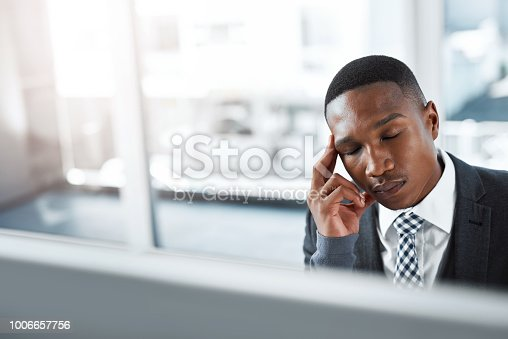 istock When did I lose my passion for this job? 1006657756