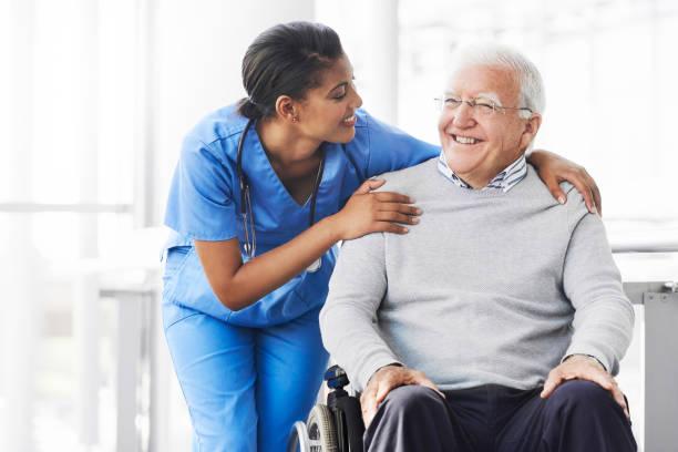 Wenn ihre Patientin glücklich ist, ist sie glücklich – Foto