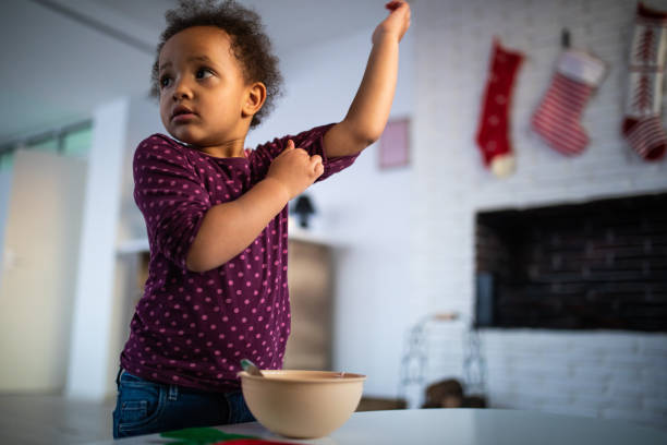 When i grow up i will be the best cook there is stock photo
