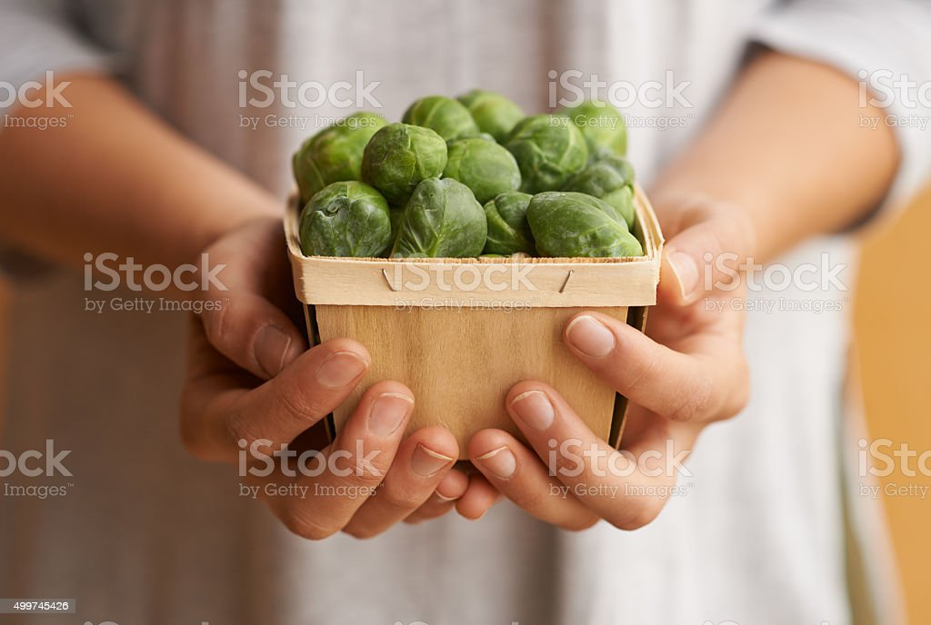 When in doubt eat your brussel sprouts – zdjęcie