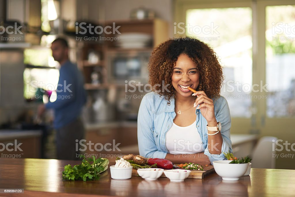 When it comes to our food we keep it clean stock photo