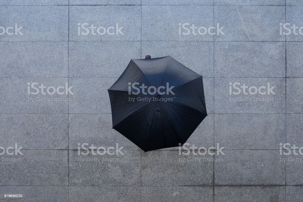When it rains stock photo