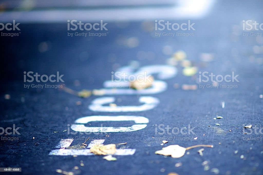 When life gets blurry, adjust your focus stock photo