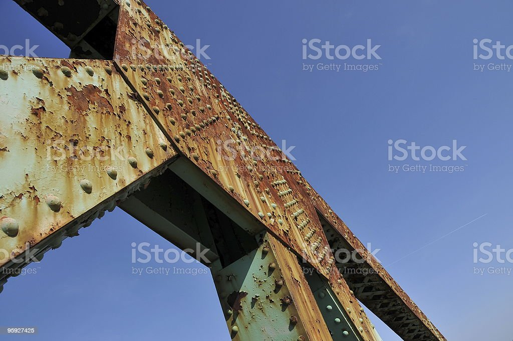 When Rivets Were King stock photo