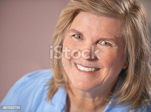 istock When she smiles, everybody smiles... 467053734