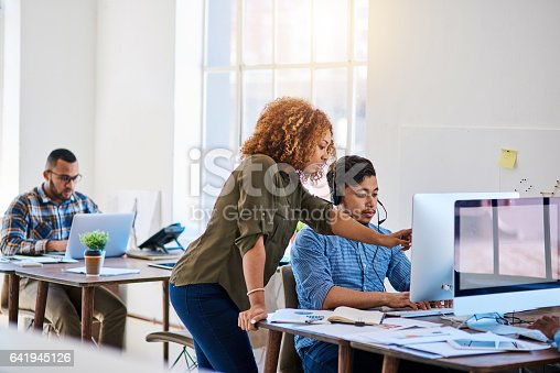 istock When the customer calls, direct them here 641945126