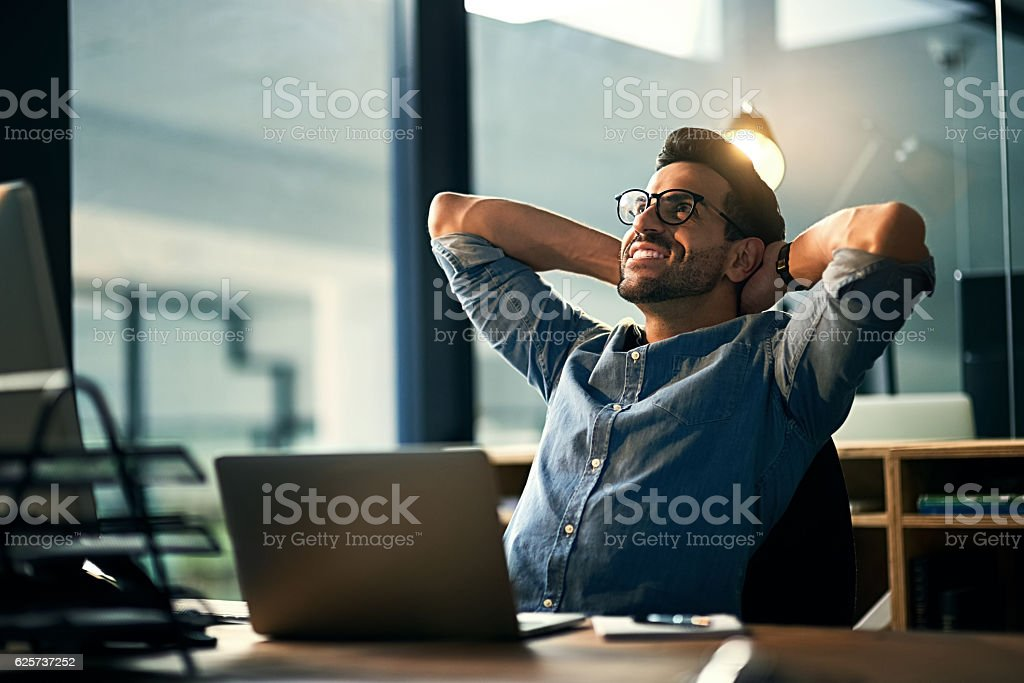 When the impossible became possible stock photo
