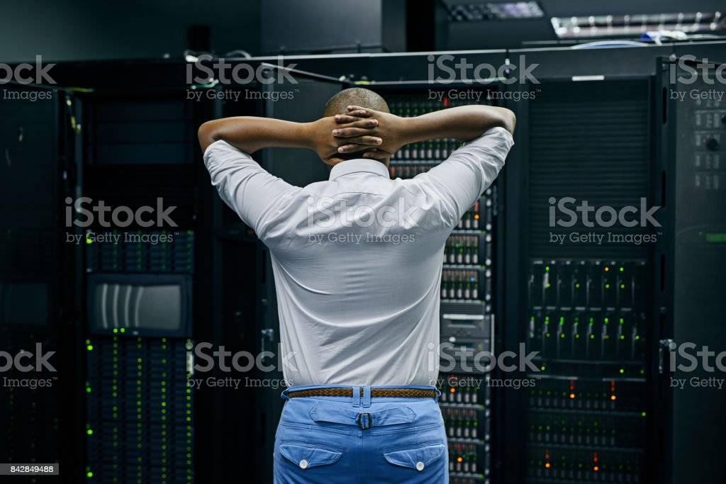 When the network is nuked stock photo