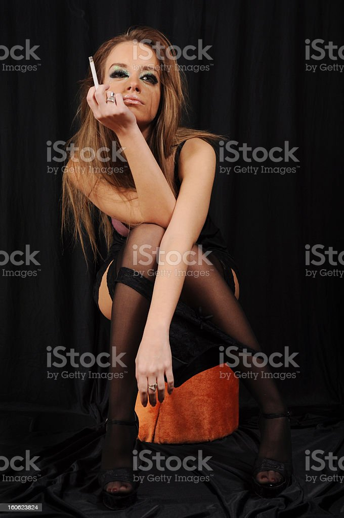 When The Party's Over... royalty-free stock photo