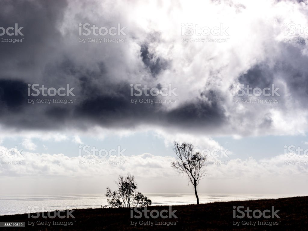When the Storm is Coming stock photo