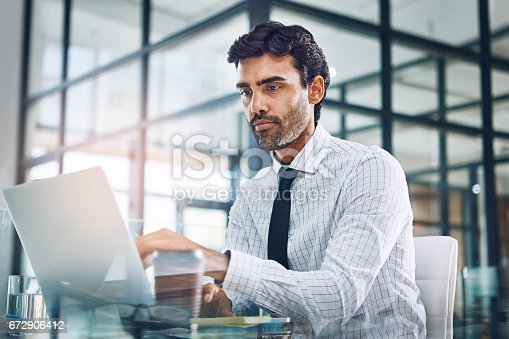 921587490 istock photo When there's work to do he gets right on it 672906412