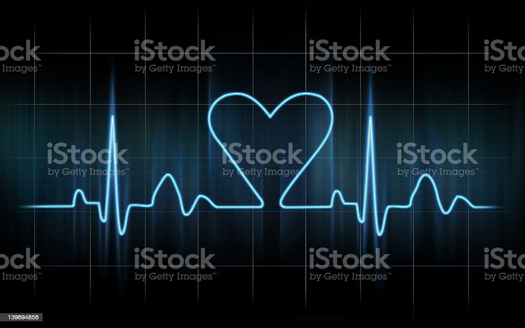When you fall in love stock photo