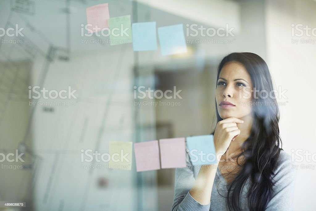 When you have a good strategy, you're halfway there! stock photo