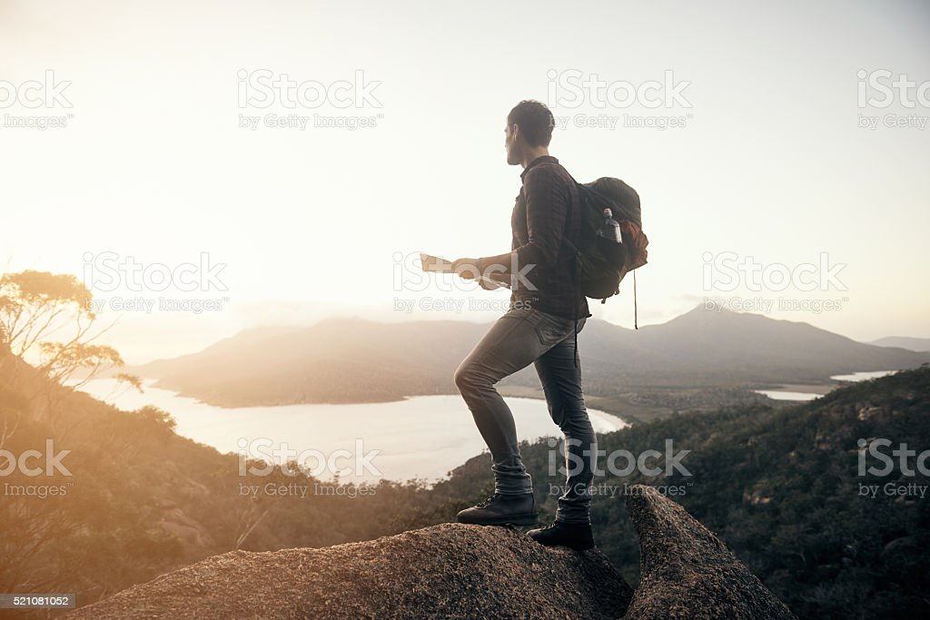 When you're at your peak performance stock photo