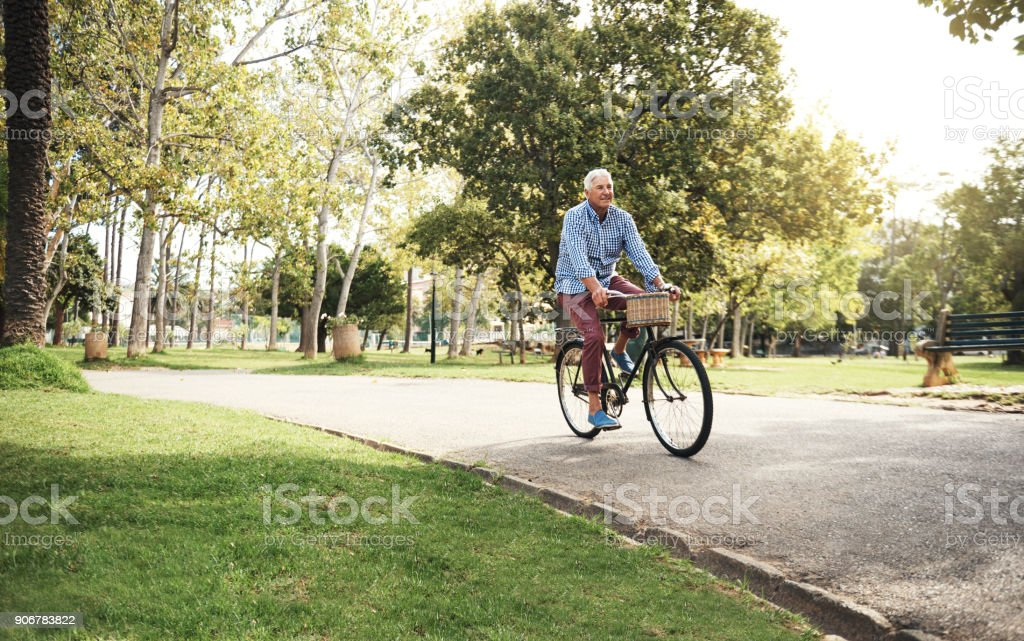 When you've got a bike, you've got everything stock photo