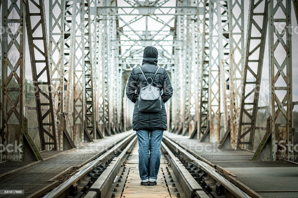 Where am I going, concept stock photo