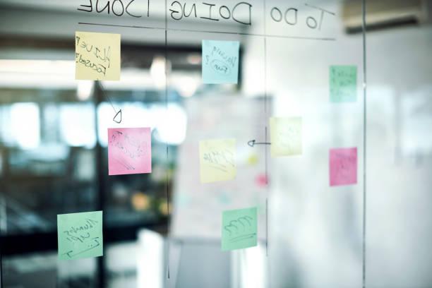 wo passiert, brainstorming-brillanz - büro zukunft und niemand stock-fotos und bilder