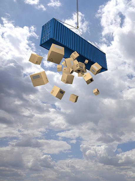 where is my cargo? - was bringt unglück stock-fotos und bilder
