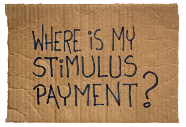 Where is my stimulus payment? stock photo