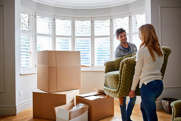 where is this going to go? - relocation stock photos and pictures