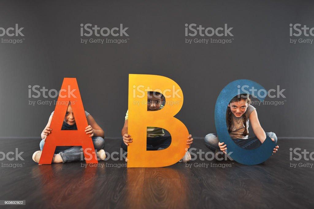 Where literacy starts stock photo