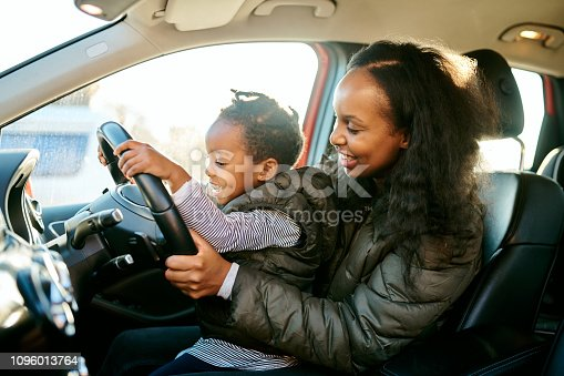 istock Where should I drive us to today, mom? 1096013764