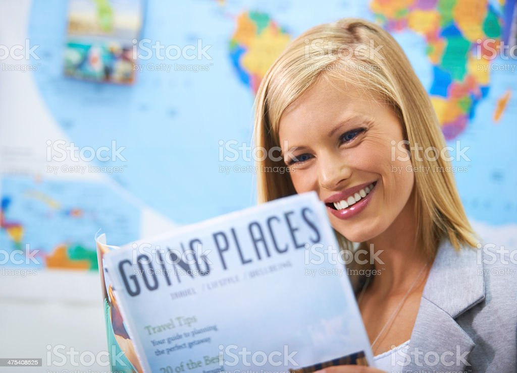 Where should my next getaway be? stock photo