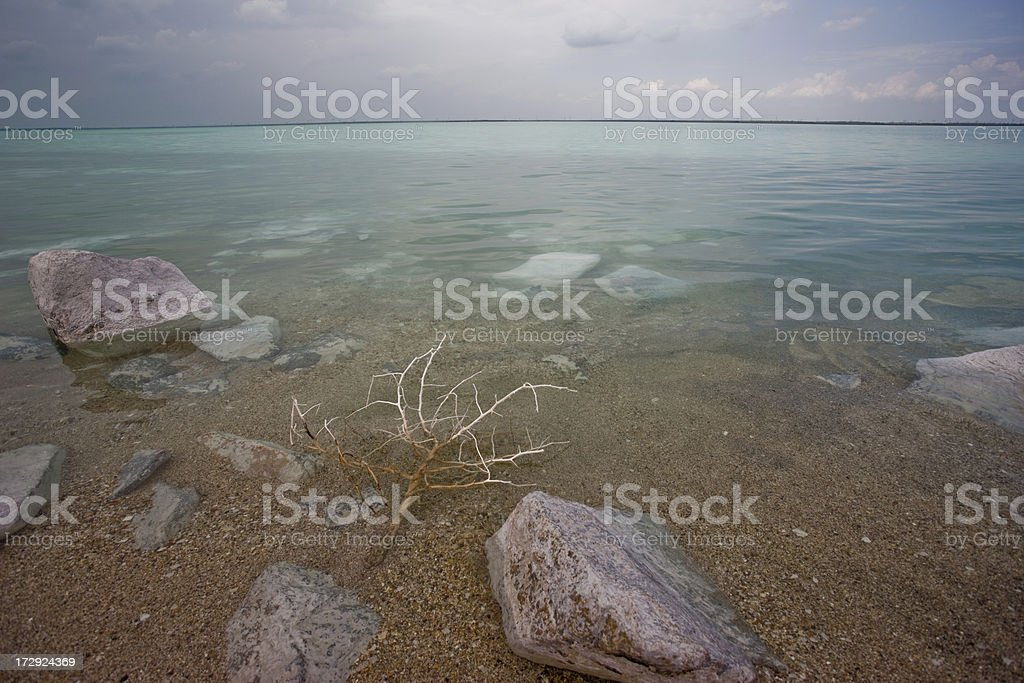 Where the sea begins royalty-free stock photo