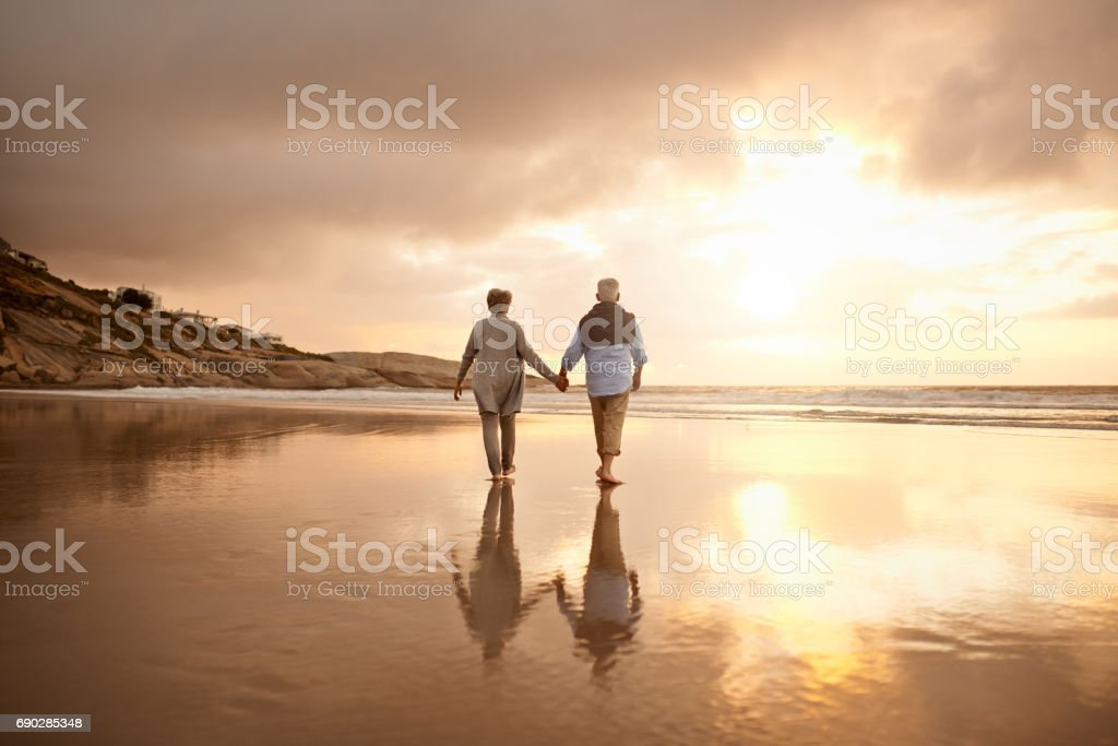 Where there is lasting love there is life stock photo