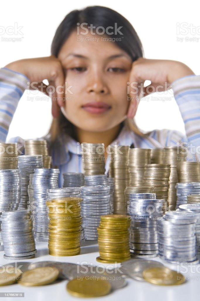 Where will I invest my money? royalty-free stock photo