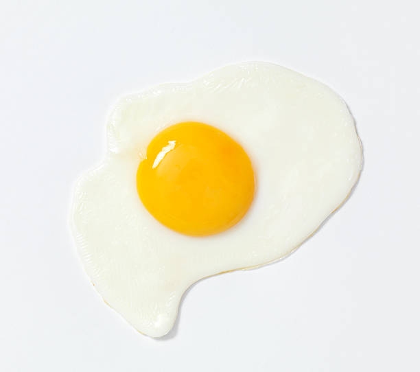 wheres the ketchup - fried egg stock photos and pictures