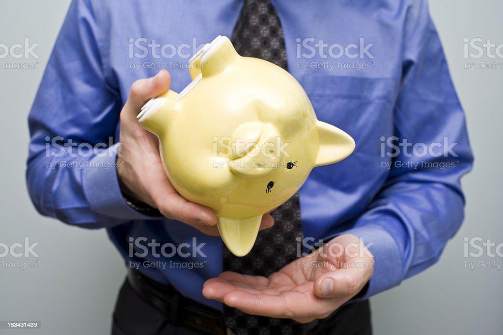 Where's the Money stock photo