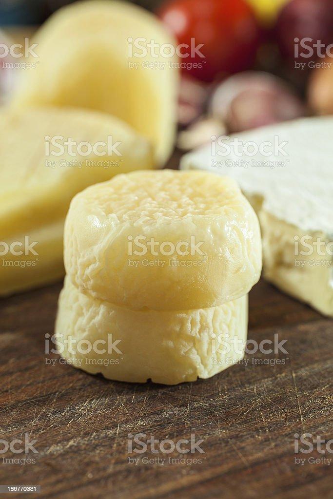 Whey cheese royalty-free stock photo