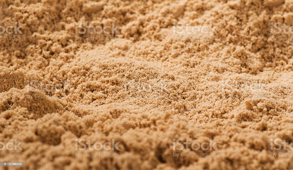 Whey protein texture background. Top view stock photo